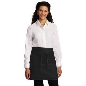 Port Authority® Easy Care Half Bistro Apron w/Stain Release
