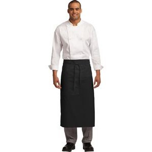 Port Authority® Easy Care Full Bistro Apron w/Stain Release