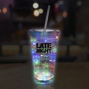 16 Oz. Multicolor String Light LED Cup