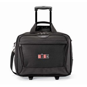 Icon Wheeled Computer Bag - Black