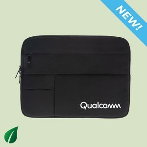 "Tahoe 13"" Eco RPET Laptop Sleeve with Anti-Bacterial Coating"