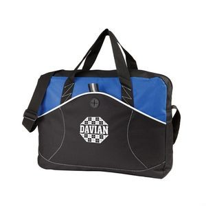 The Wave Shoulder Bag - Royal Blue