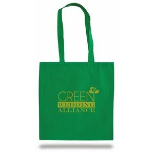 "Non Woven Convention Bag w/ 26"" Shoulder Strap - 1 Color (15""x16"")"