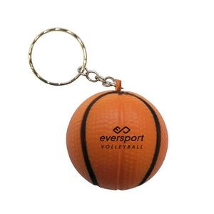 Basketball Stress Reliever Key Chain-close out