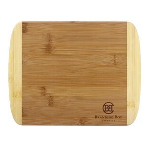 "Totally Bamboo 11"" 2-Tone Cutting Board"